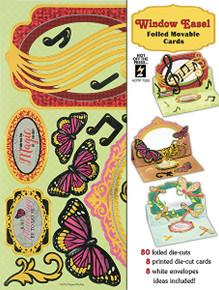 Hot Off The Press Window Easel Artful Card Kit 7293