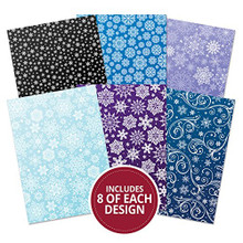 Hunkydory Snowfall Mirri Limited Edition 48 A4 Sheets in 6 Designs 270gsm