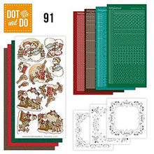 Dot and Do Nr. 91 Card Kit with HobbyDot Stickers, 3D Image & Layered Cards
