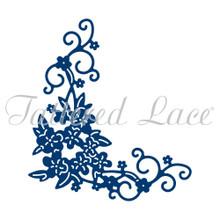 Disty Flourish Corner: Tattered Lace Metal Card Die Stephanie Weightman