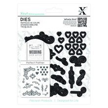 DoCraft XCut - Flourishes (Wedding Ever After) 25-Dies Metal Cutting Die Set