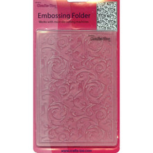 Crafts-Too Crafts-Too Embossing Folder, Scrollwork's