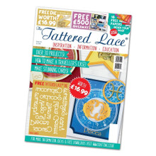 Tattered Lace Magazine Issue 33 with Zodiac Words Die Set