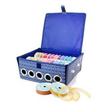 Tattered Lace Ribbon Storage Box Organizer  -- Sturdy & Stackable