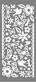 Dazzles Double-Stick Little Accents Stickers HOTP2584