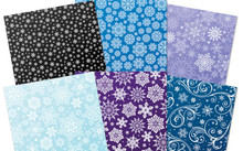 Hunkydory Snowfall Mirri Limited Edition 6 A4 Sheets (1ea of 6 designs) 270gsmi