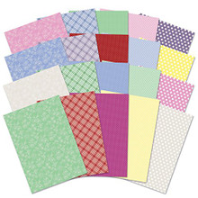 Hunkydory Adorable Scorable 60PC Essential Springtime Card Block A4 Sheets 350gsm