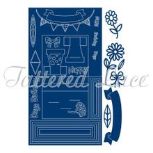 Tattered Lace Stage Card - Big Beautiful Set ETL383