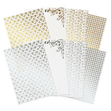 Hunkydory Crafts Meadow Cottage Luxury Foiled Acetate Foiled A4 Acetate Sheets