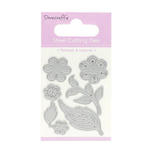 Dovecraft Flowers and Leaves Cutting Dies DCDIE066
