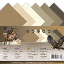 Amy Design Wild Animals 4K Paper Pad 24-pieces 250Gr AD4K10011
