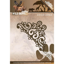 Amy Design Wild Animals - African Corner - Metal Die ADD10108