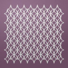 Ultimate Crafts Background Gallery Die-Starry Eyed, 3.8'X3.8'
