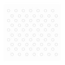Couture Creations 3D Foam Dots 152/Pkg-White