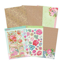 Hunkydory Florabunda Beautiful Bunting Kit - with Matt-tastic Adorable Scorable