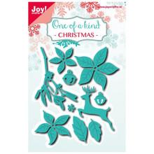 Joy! Crafts Dies One of a Kind Christmas 6002-0584 Metal Cutting Dies