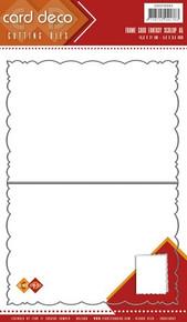 Find it Trading - Frame Card Fantasy Scallop A5 Cutting Die