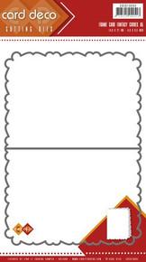 Card Deco - Find it Trading - Frame Card Fantasy Curves A5 Cutting Die