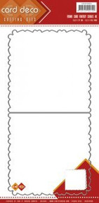 Card Deco - Find it Trading - Frame Card Fantasy Curves 4K Cutting Die CDCD10003