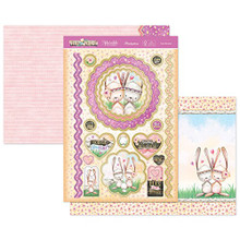 Hunkydory Foxy and Friends Love Bunnies Topper Set Card Kit FOXY906