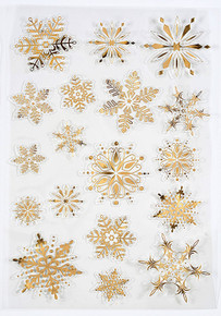 Hunkydory Luxury Foiled and Die-Cut Snowflakes on Acetate One A4 Sheets
