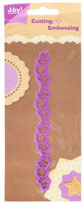 Joy! Crafts Die, Filigree and Hearts Border, Small