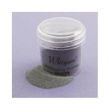Whispers Embossing Powder 1oz. Silver Pearl