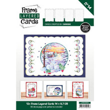 Find it Trading Frame Layered Cards No14 with Embroidery & 3D Sheets