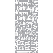 Hot Off The Press - Birthday Greetings Dazzles