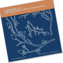 Groovi Babies - Branches - Laser Etched Acrylic for Parchment Craft