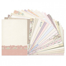 Hunkydory Birth Flowers Inserts for Cards A4 Sheets 140gsm 24pc