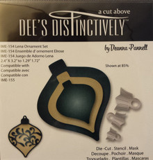 Dee's Distinctively Die Lena Ornament Set