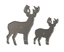 Amy Design - The Feeling of Christmas - Christmas Reindeer Cutting Dies ADD10115