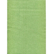Glitterfoil Green Self Adhesive - 2 Sheets - Glitzerfolie from Germany