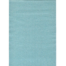 Glitterfoil Turquoise Self Adhesive - 2 Sheets - Glitzerfolie from Germany