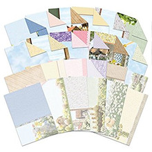 Hunkydory Crafts Spring Days and Country Life Luxury Inserts & Background Papers for Cards
