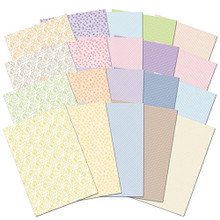 Hunkydory Adorable Scorable SPRINGTIME PATTERNS Card Block A4 Sheets 350gsm