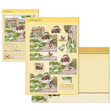 Hunkydory Spring Days & Country Life - FARMYARD FRIENDS - Deco-Large Set Card Kit