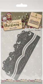 Find It Yvonne Creations Celebrating Christmas Die-Holly Border