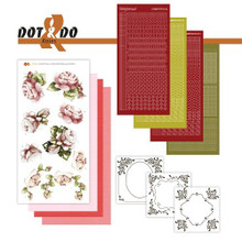 Hobbydots Dot and Do Roses NR027 Card Set