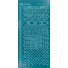 Find It Trading Hobbydots sticker - STYLE19 - Mirror - Turquoise