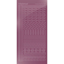 Find It Trading Hobbydots sticker - STYLE18 - Mirror - Violet