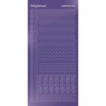 Find It Trading Hobbydots sticker style 17- Mirror - Purple