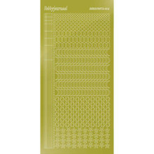 Find It Trading Hobbydots sticker style 16- Mirror - Yellow