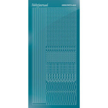 Find It Trading Hobbydots sticker style 3- Mirror - Turquoise