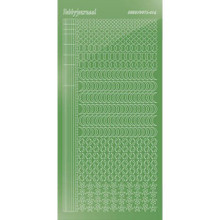Find It Trading Hobbydots sticker style 16- Mirror - Lime