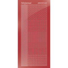 Find It Trading Hobbydots sticker style 4- Mirror - Christmas Red