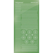 Find It Trading Hobbydots sticker style 6- Mirror - Lime