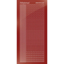 Find It Trading Hobbydots sticker style 4- Mirror - Red