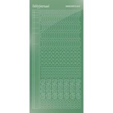 Find It Trading Hobbydots sticker style 17- Mirror - Apple Green